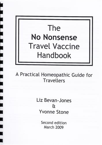 The No Nonsense Travel Vaccine Handbook - Liz Bevan-Jones and Yvonne Stone