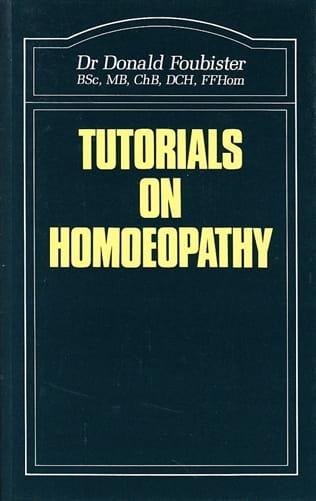 Tutorials on Homoeopathy