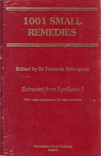 1001 Small Remedies - Frederik Schroyens