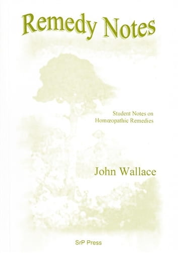 Remedy Notes - John Wallace