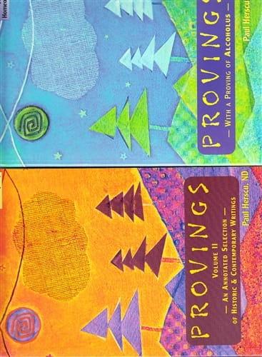 Provings (Volumes 1 and 2) - Paul Herscu