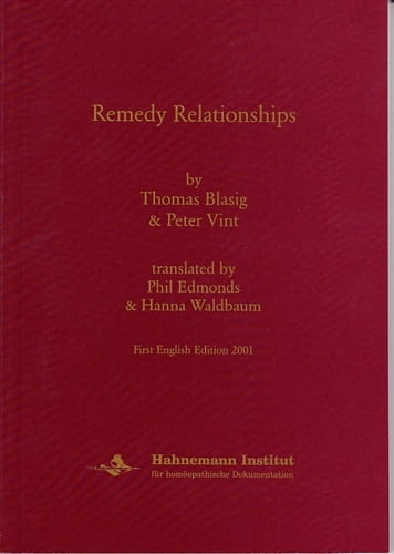 Remedy Relationships - Thomas Blasig and Peter Vint