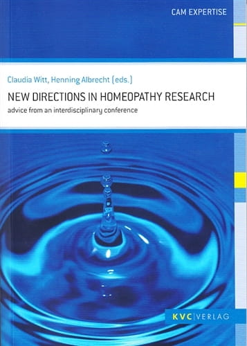New Directions in Homeopathy Research