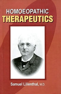 Homoeopathic Therapeutics - Samuel Lilienthal