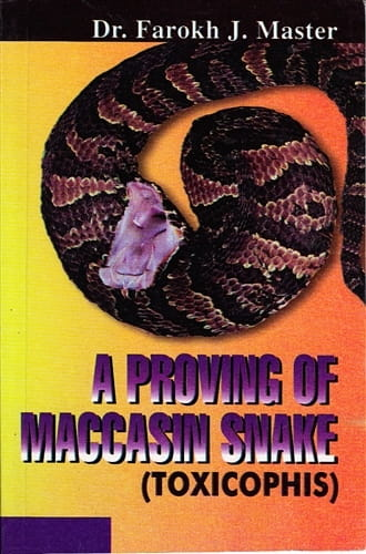 A Proving of Maccasin Snake (Toxicophis) - Farokh Master