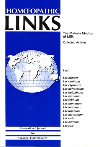 The Materia Medica of Milk - Homeopathic Links Publication