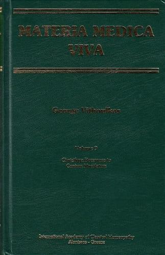 Materia Medica Viva (Volume 9): Cimicifuga Racemosa to Conium Maculatum