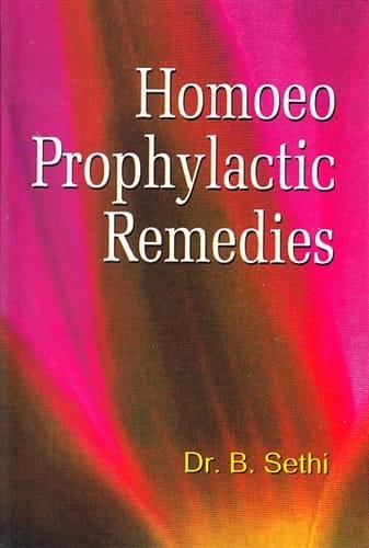 Homoeo Prophylactic Remedies - B Sethi