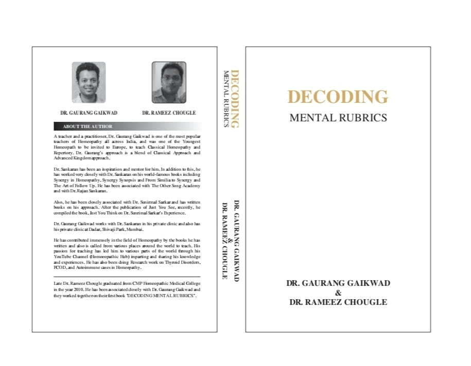 Decoding Mental Rubrics - Gaurang Gaikwad and Rameez Chougle