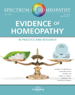 Evidence of Homeopathy - Spectrum of Homeopathy 2020/1