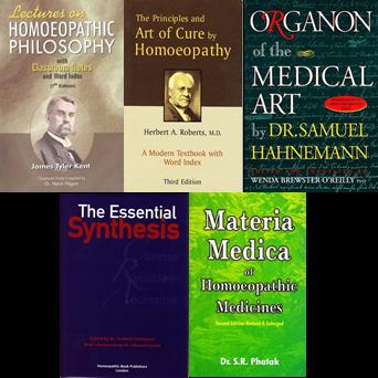 Irish School of Homeopathy First Year Books