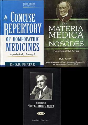 Irish School of Homeopathy Third Year Books