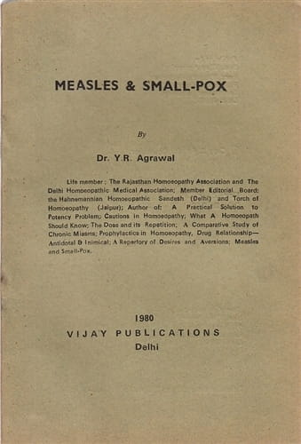 Measles and Smallpox - Yad Ram Agrawal