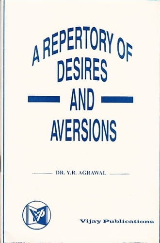 A Repertory of Desires and Aversions - Yad Ram Agrawal