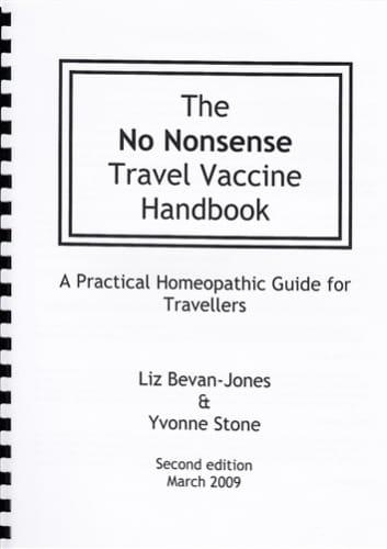 The No Nonsense Travel Vaccine Handbook - Liz Bevan-Jones and Yvonne Stone