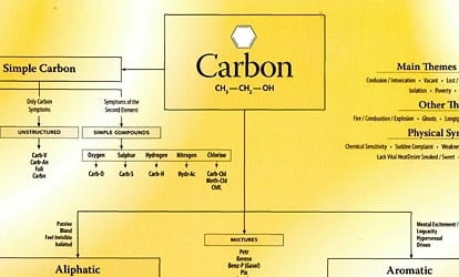 Chart of Carbon Remedies (Laminated) - Roger Morrison
