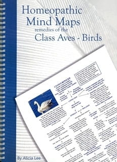 Homeopathic Mind Maps: Remedies of the Class Aves (Birds) - Alicia Lee