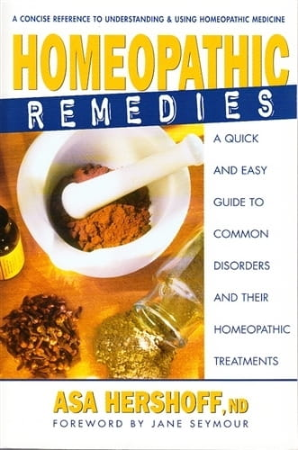 Homeopathic Remedies - Asa Hershoff