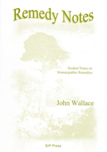 Remedy Notes - John Wallace