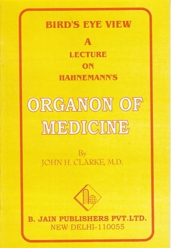 A Bird's Eye View of the Organon - John Henry Clarke
