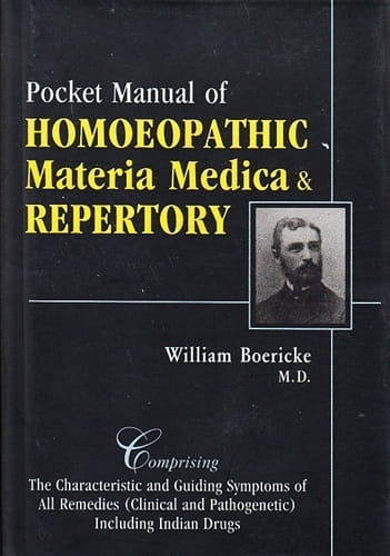 Pocket Manual of Materia Medica & Repertory (Indian edition) - William Boericke