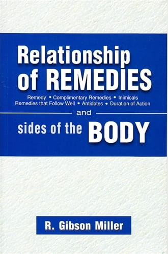 Relationship of Remedies - Robert Gibson Miller