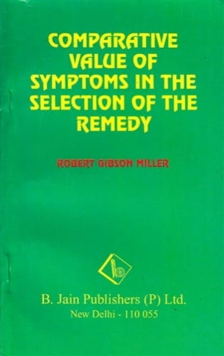 Comparative Value of Symptoms - Robert Gibson Miller