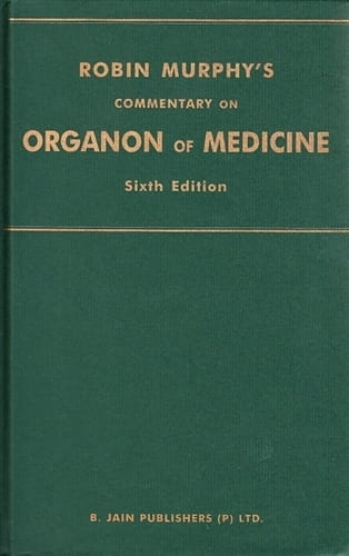 Commentary on the Organon of Medicine (Sixth Edition) - Robin Murphy
