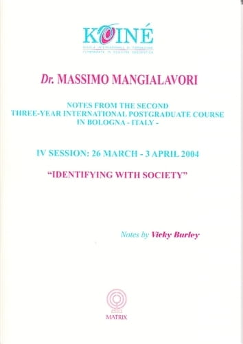 Identifying with Society (Session 4) - Massimo Mangialavori