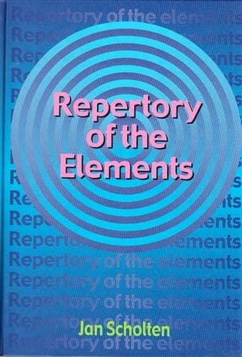 Repertory of the Elements - Jan Scholten