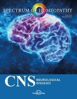 CNS Neurological Diseases - Spectrum of Homeopathy 2020/3