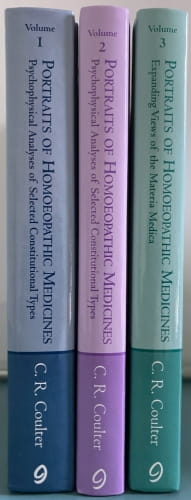 Portraits of Homoeopathic Medicines Vols 1, 2 and 3 - Catherine Coulter