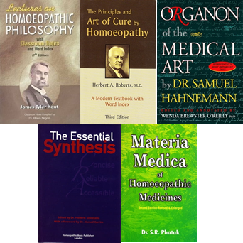 Irish School of Homeopathy First Year Books