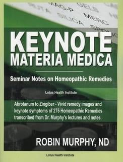 Keynote Materia Medica - Robin Murphy