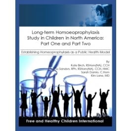 Long Term Homoeoprophylaxis Study in Children in North America - Kate Birch