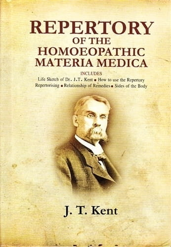 Repertory of the Homoeopathic Materia Medica (Large Size) - James Tyler Kent