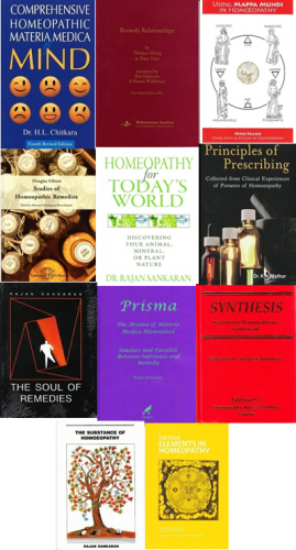 School of Homeopathy Booklist Two (Complete Set including Synthesis Repertory)