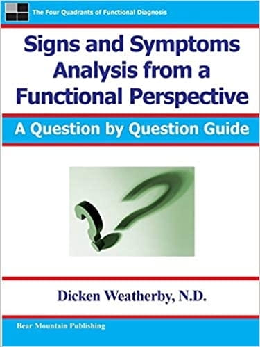 Signs and Symptoms Analysis From a Functional Perspective - Dr Dicken Weatherby