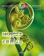 Mosses and Ferns - Spectrum of Homeopathy 2021/2