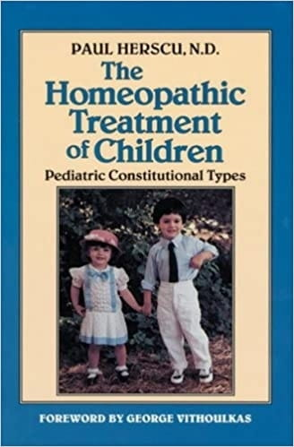 Homeopathic Treatment of Children - Paul Herscu