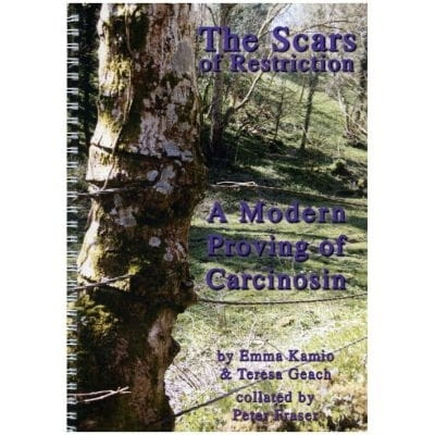 The Scars of Restriction: A Modern Proving of Carcinosin - Kamio, Geach, Fraser