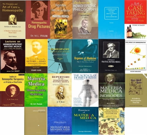 School of Homeopathy Booklist One (Complete Set)